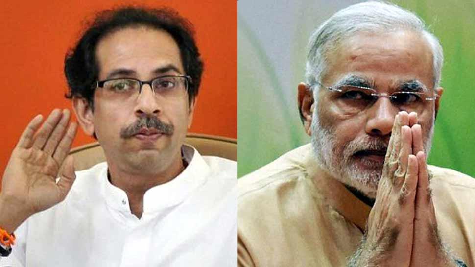 पीएम नरेंद्र मोदी बोले, 'शिवसेना और बीजेपी का गठबंधन राजनीति से परे'
