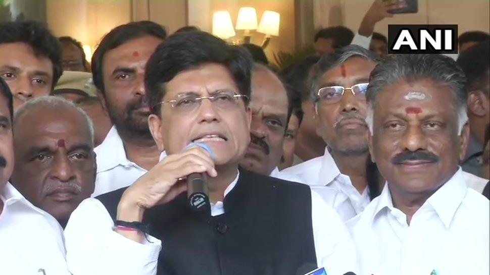 महाराष्ट्र के बाद तमिलनाडु में बीजेपी का AIADMK से गठबंधन, 5 सीटों पर लड़ेगी चुनाव