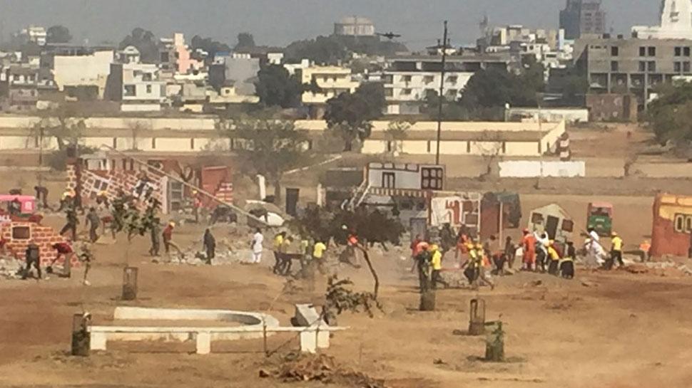दिल्ली, यूपी में महसूस किए गए भूकंप के झटके, घरों से बाहर निकले लोग