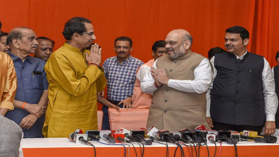 BJP-शिवसेना गठबंधन: मुख्यमंत्री पद को लेकर दोनों के सुर अलग-अलग