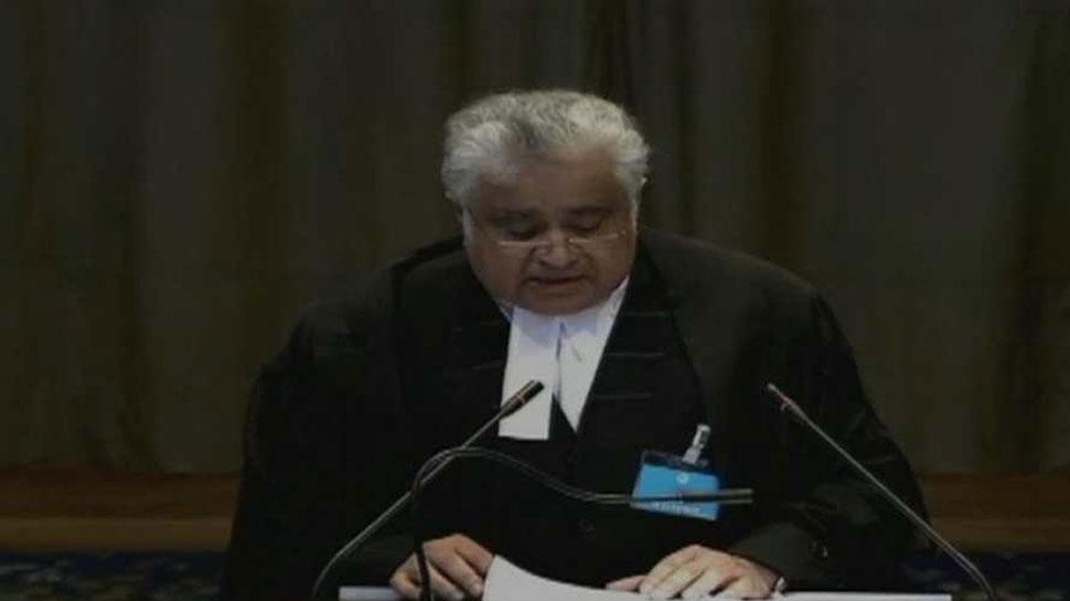 कुलभूषण जाधव मामला: भारत ने पाकिस्तान के वकील की अभद्र भाषा पर आपत्ति जताई