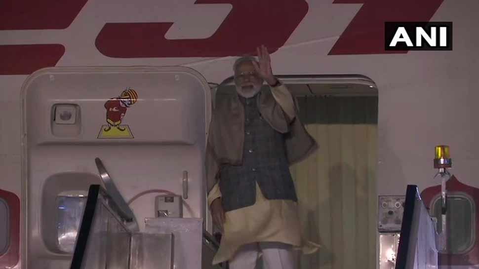 प्रधानमंत्री नरेंद्र मोदी दो दिन की दक्षिण कोरिया यात्रा पर रवाना