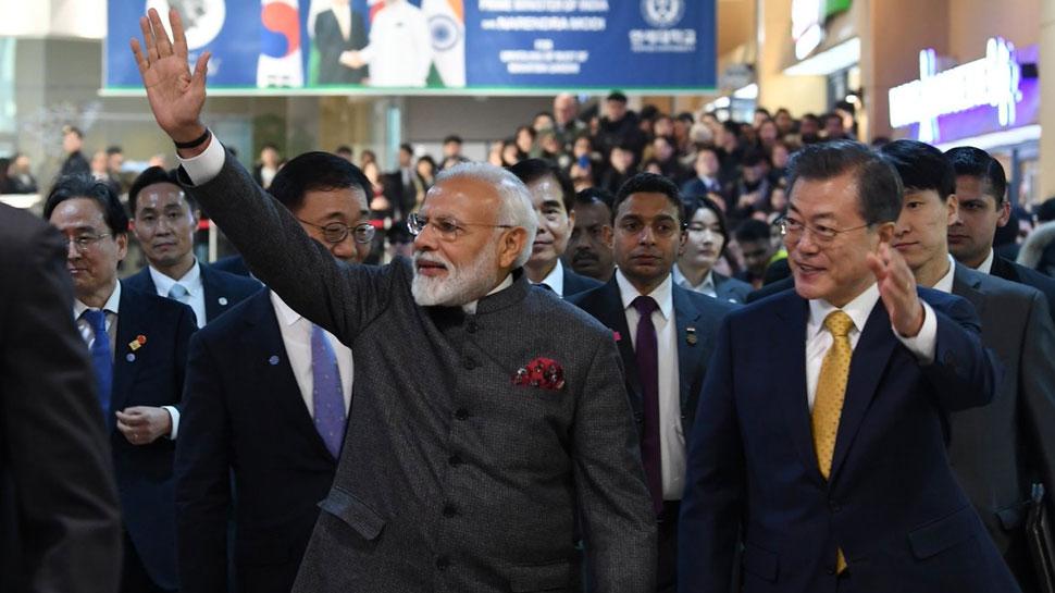 कोरिया में बोले पीएम मोदी, भारत जल्द बनेगा 5000 बिलियन डॉलर की इकोनॉमी