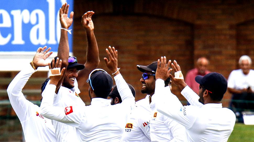 पोर्ट एलिजाबेथ टेस्ट: विश्वा फर्नांडो और कसुन रजिथा ने दक्षिण अफ्रीका को 222 रन पर समेटा