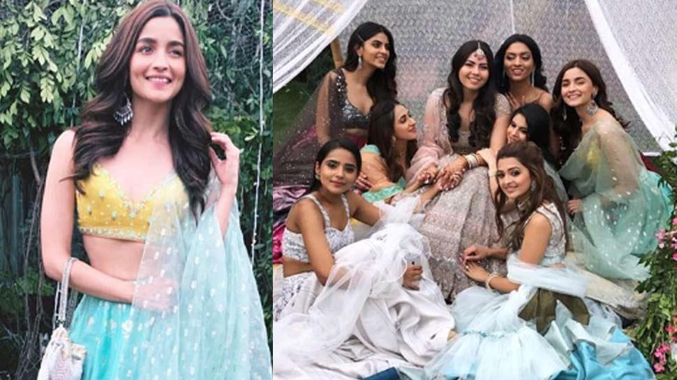 Alia Bhatt in friend's marriage