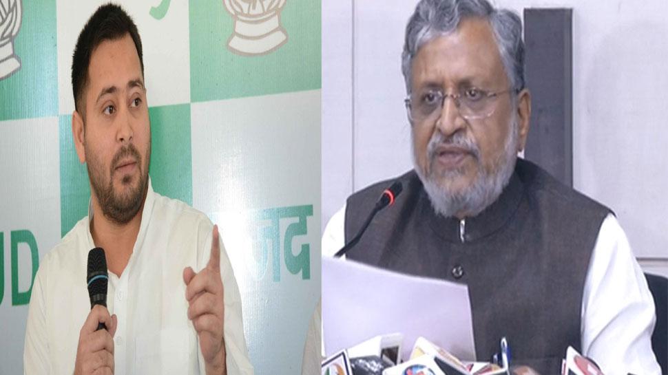 बंगला विवादः तेजस्वी का सुशील मोदी पर पलटवार, कहा- RTI दायर कर CM बंगले की जानकारी दें