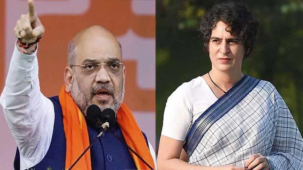 सियासत का सुपर सैटरडे: अमित शाह गोरखपुर-लखनऊ, तो प्रियंका गांधी भी आज यूपी के दौरे पर