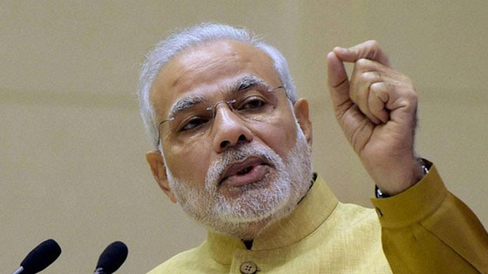 पिछली सरकार में भ्रष्टाचार की थी होड़, अब विकास दर पर जोर : पीएम मोदी