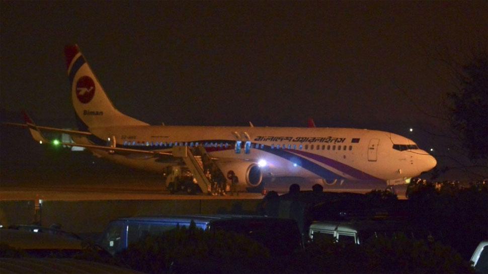 बांग्लादेश: अपहरणकर्ता ने विमान को किया हाईजैक, कहा- PM से बात कराओ, कमांडो ने मार गिराया