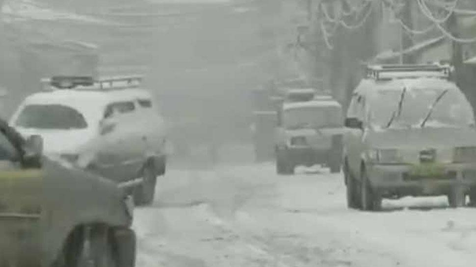 हिमाचल प्रदेश में भारी बारिश के साथ हिमपात की संभावना