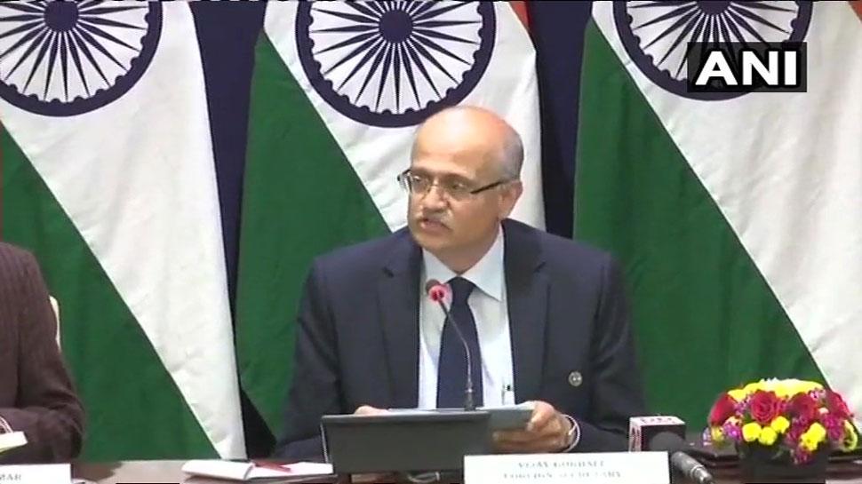 भारतीय वायुसेना की कार्रवाई में बालाकोट में जैश के कमांडरों समेत कई आतंकी मारे गए- विदेश सचिव