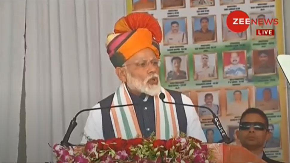PoK में भारत की हवाई कार्रवाई के बाद चुरू में बोले PM- 'मेरा वचन है कि भारत मां का सिर नहीं झुकने दूंगा'