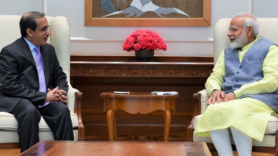 भारत-PAK के बीच चल रहे तनाव के बीच सऊदी के राजदूत ने PM मोदी से की मुलाकात