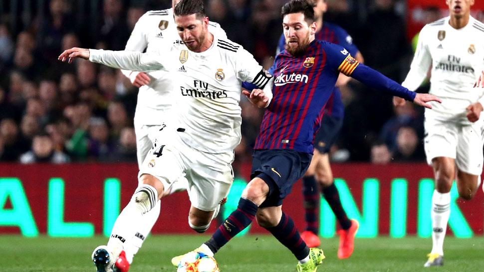 फुटबॉल: रियल मैड्रिड को हरा बार्सिलोना कोपा डेल रे के फाइनल में