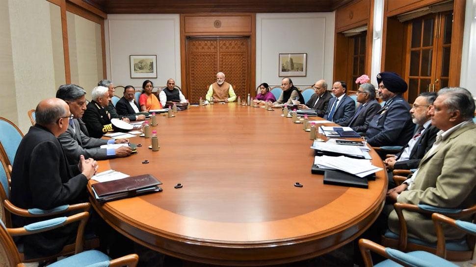 भारत-पाक में बढ़े तनाव के बीच प्रधानमंत्री की अध्यक्षता में हुई सुरक्षा पर उच्च स्तरीय बैठक