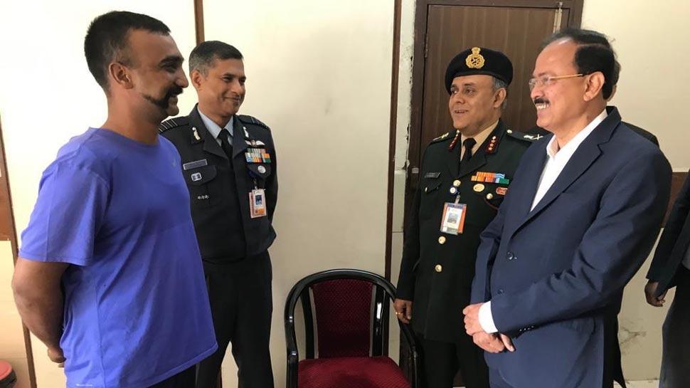 विंग कमांडर अभिनंदन की रीढ़ की हड्डी में चोट, वायुसेना चाहती है जल्द उड़ाएं विमान
