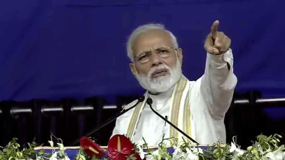 VIDEO: आतंकियों को घर में घुसकर मारेंगे, पाताल में छिपे होंगे तब भी नहीं छोडूंगा: PM मोदी