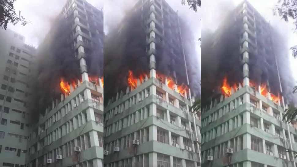 CGO कॉम्पलेक्स में अंत्योदय भवन की 5वीं मंजिल पर लगी आग, CISF के सब इंस्पेक्टर की मौत