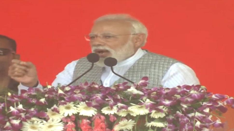 56 सुनते ही कांग्रेस वालों की नींद खराब हो जाती है : PM नरेंद्र मोदी