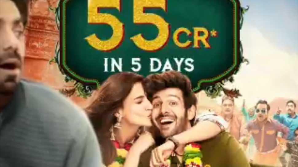 Box Office: कार्तिक-कृति की 'लुका छुपी' ने किया कमाल, 5 दिन में कमाए 55 करोड़!