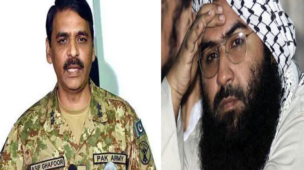 आतंकी मसूद अजहर को बचा रही पाक सेना, कहा- 'पाकिस्तान में जैश-ए-मोहम्मद का अस्तित्व ही नहीं है'