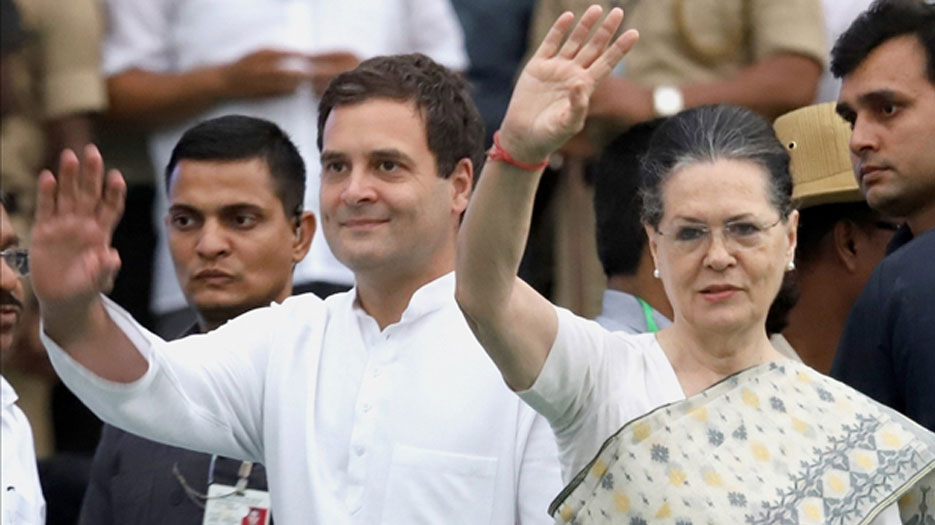 2019 चुनाव : कांग्रेस ने जारी की पहली लिस्ट, सोनिया रायबरेली और राहुल अमेठी से लड़ेंगे चुनाव