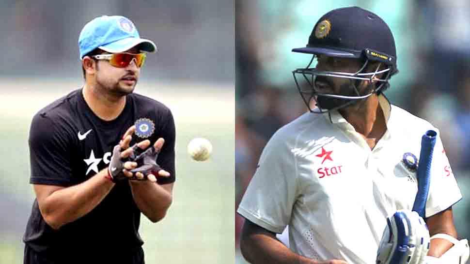 सुरेश रैना-विजय समेत 6 खिलाड़ियों को झटका, BCCI ने छीना 'करार'; 4 की नई एंट्री, देखें लिस्ट