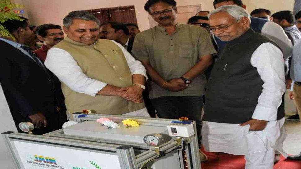 उत्पादन बढ़ाने के लिए कृषि में नई तकनीक अपनाने की जरूरत- नीतीश कुमार