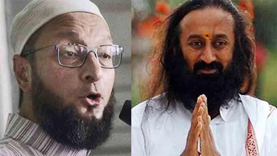 अयोध्या केस: असदुद्दीन ओवैसी ने मध्यस्थता के लिए श्रीश्री रविशंकर के नाम पर उठाई आपत्ति