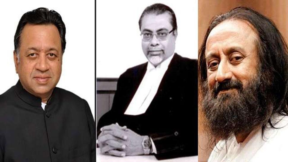 अयोध्या मामला: SC द्वारा मीडिएटर नियुक्त करने पर क्या बोले श्रीश्री रविशंकर, जस्टिस कलीफुल्ला और श्रीराम पंचू