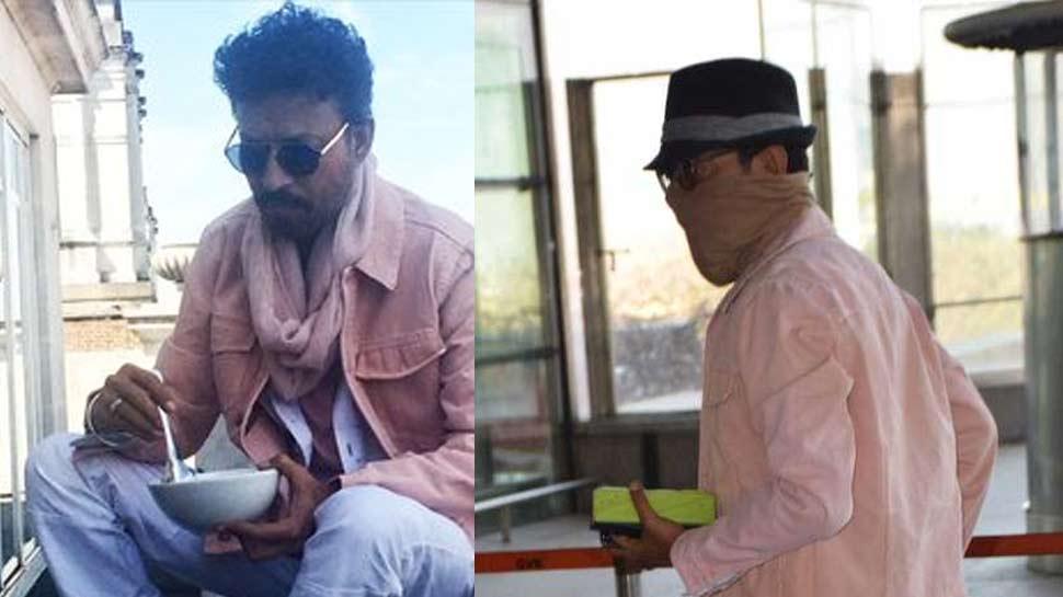 PHOTO: लंबे अरसे बाद नजर आए इरफान खान, चेहरा छुपाते एयरपोर्ट पर हुए स्पॉट!