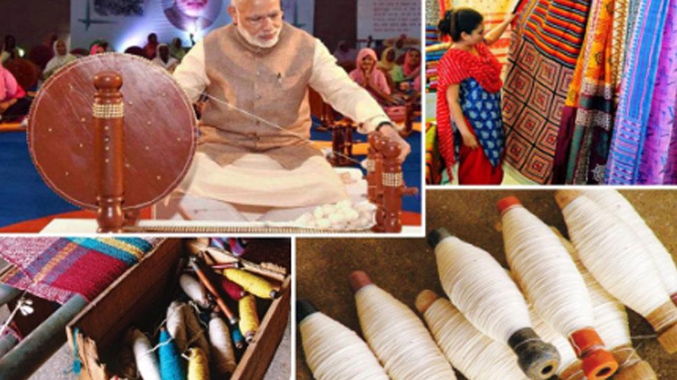 देसी 'खादी' होगा ग्लोबल, न्यूयॉर्क में UN की बैठक में खादी के कपड़ों का प्रदर्शन