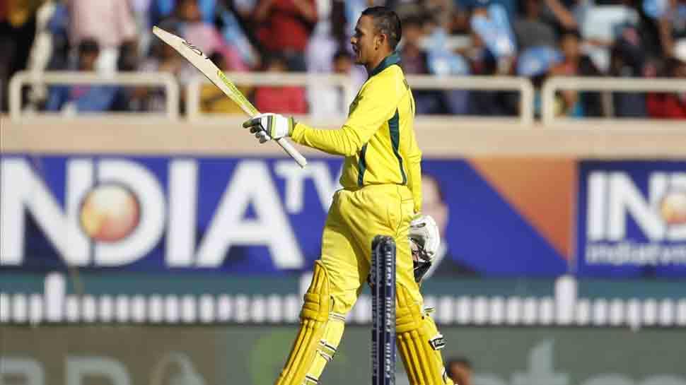 INDvAUS: उस्मान ख्वाजा ने वनडे क्रिकेट में अपने पहले शतक को बताया 'खास'