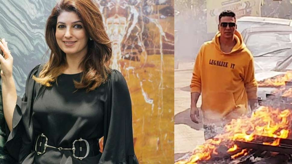 अक्षय कुमार ने शेयर की धमाकेदार PHOTO, फैंस से बोले- 'मेरी बीवी को मत बताना'