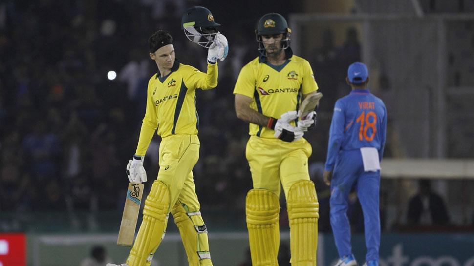 INDvsAUS 4th ODI: हैंड्सकॉम्ब और टर्नर ने बौना किया भारत का विशाल स्कोर, ऑस्ट्रेलिया को जिताया