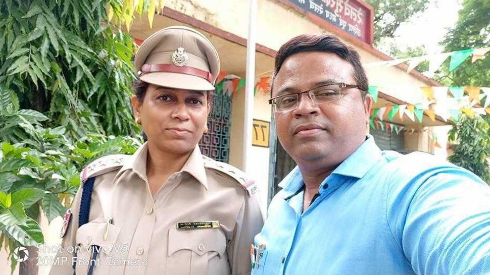 रायपुरः अवैध संबंधों के शक में हुआ विवाद तो महिला इंस्पेक्टर ने पति पर चला दी गोली