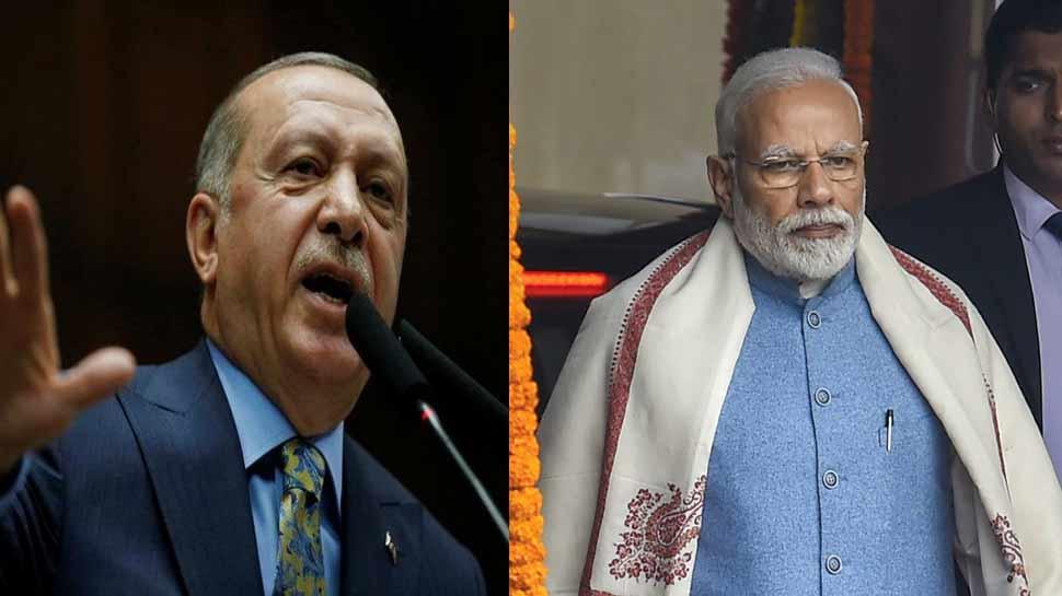 आतंकवाद के खिलाफ ठोस कार्रवाई पर तुर्की के राष्ट्रपति और अबुधाबी के युवराज ने दिया भारत का साथ