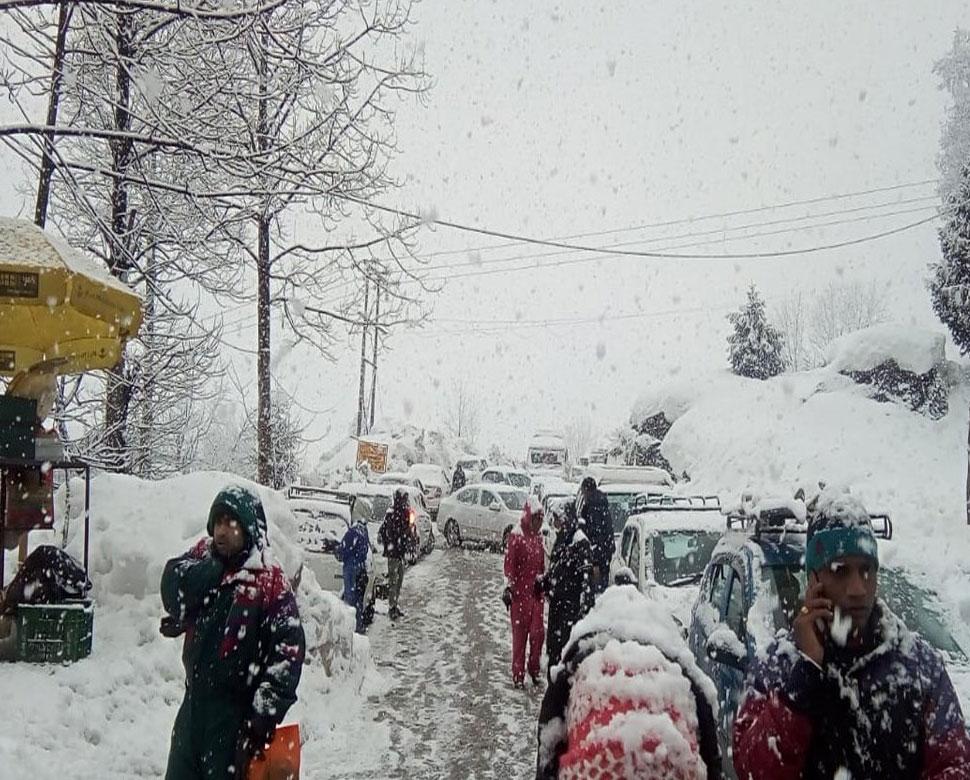 snowfall in Himachal Pradesh-2