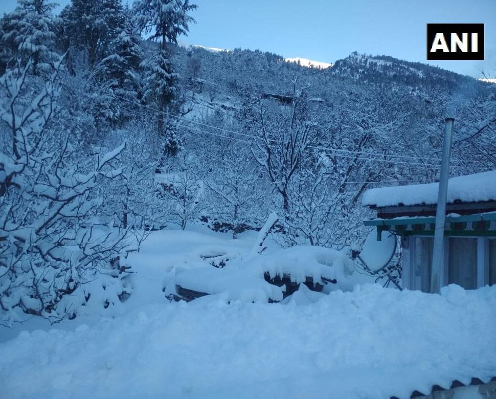 snowfall in Himachal Pradesh-4