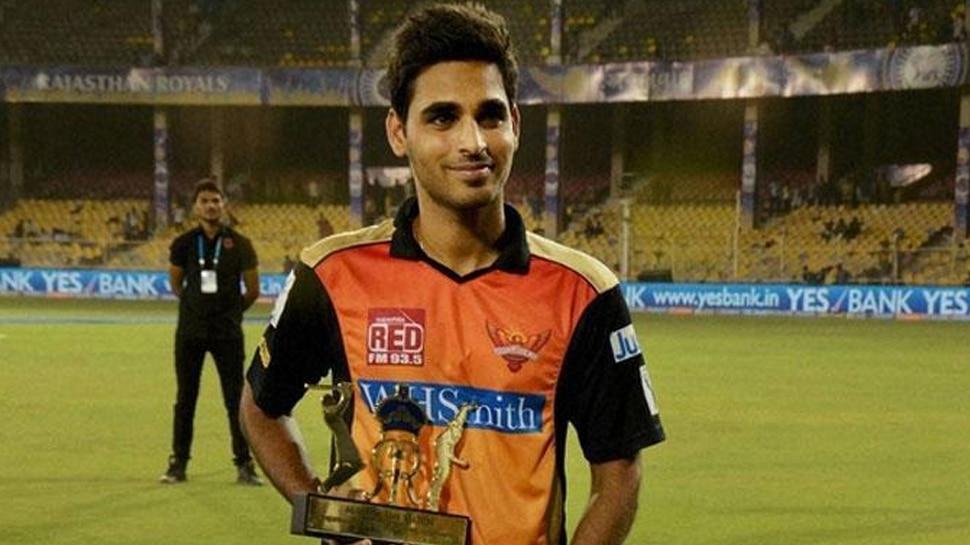 आईपीएल 2019 : सनराइजर्स हैदराबाद को लग सकता है झटका, तेज गेंदबाज भुवनेश्वर कुमार हो सकते हैं बाहर