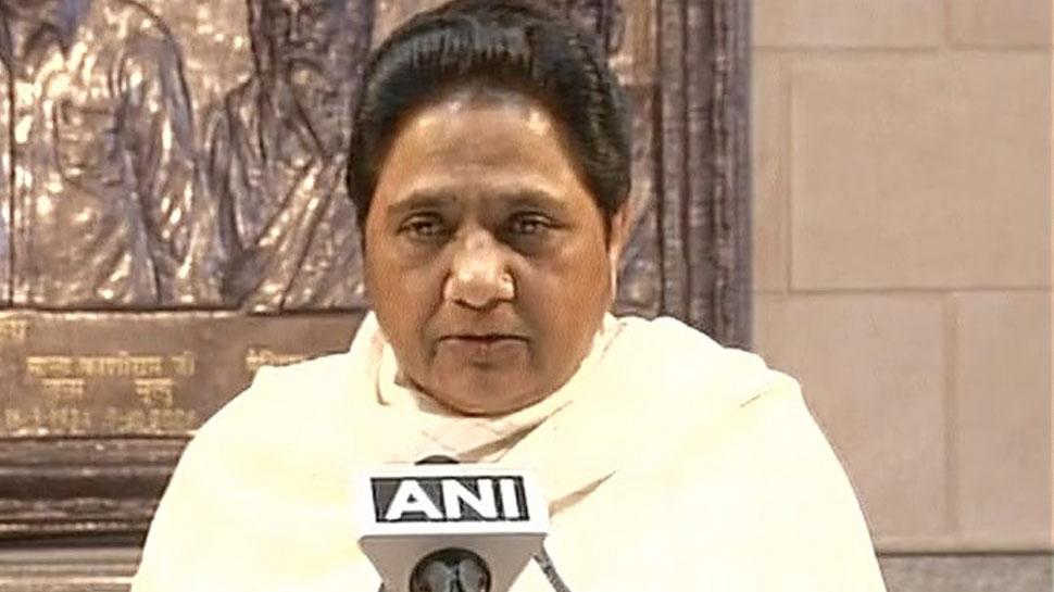 मायावती की दो टूक, 'BSP किसी भी राज्य में कांग्रेस से नहीं करेगी गठबंधन'