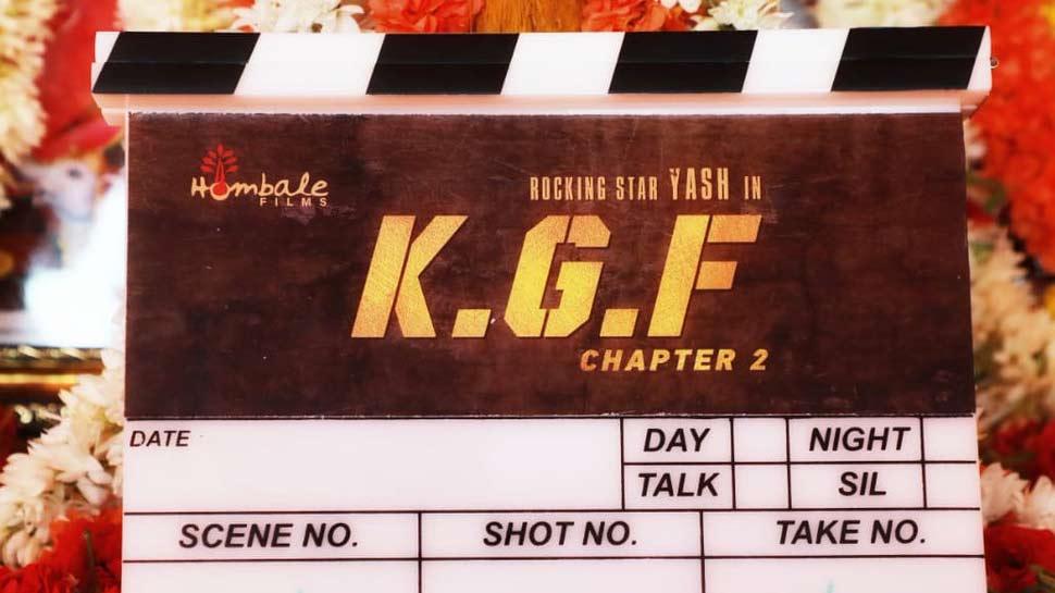 KGF फैंस के लिए आई बड़ी खुशखबरी, फिल्म के चैप्टर 2 की शूटिंग हुई शुरू