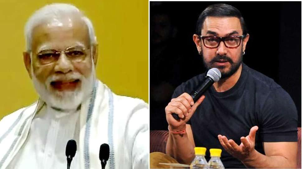 PM मोदी ने की सितारों से वोट करने की अपील, आमिर खान ने ट्वीट पर दिया जवाब