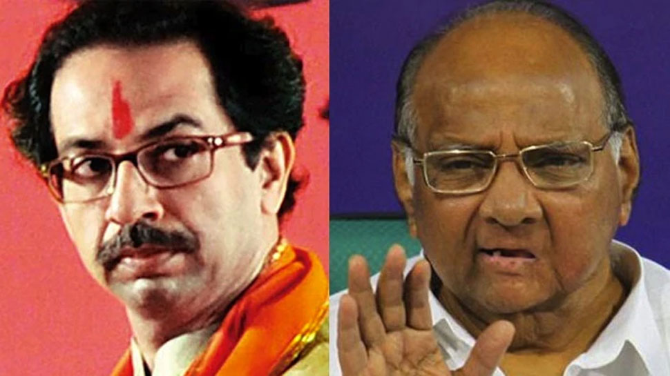 महाराष्ट्र: कांग्रेस नेता के बेटे ने थामा BJP का हाथ, उद्धव ने साधा पवार पर निशाना
