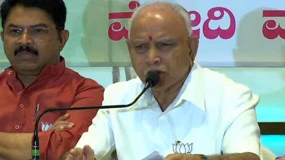 कांग्रेस-जेडीएस सरकार नहीं पूरा कर पाई किसानों की कर्जमाफी का वादा :येदियुरप्पा