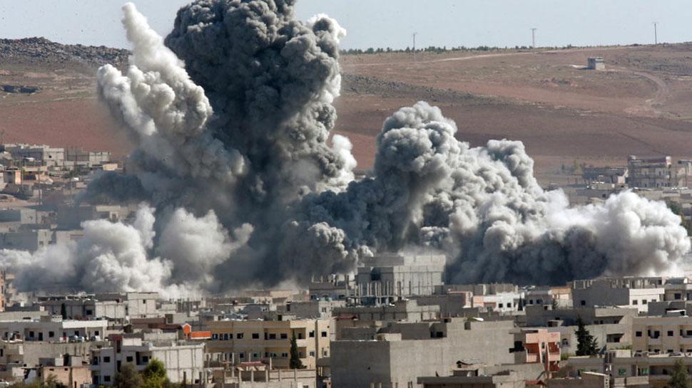 सीरिया में रूस ने किए हवाई हमले, 13 लोगों की मौत की पुष्टि