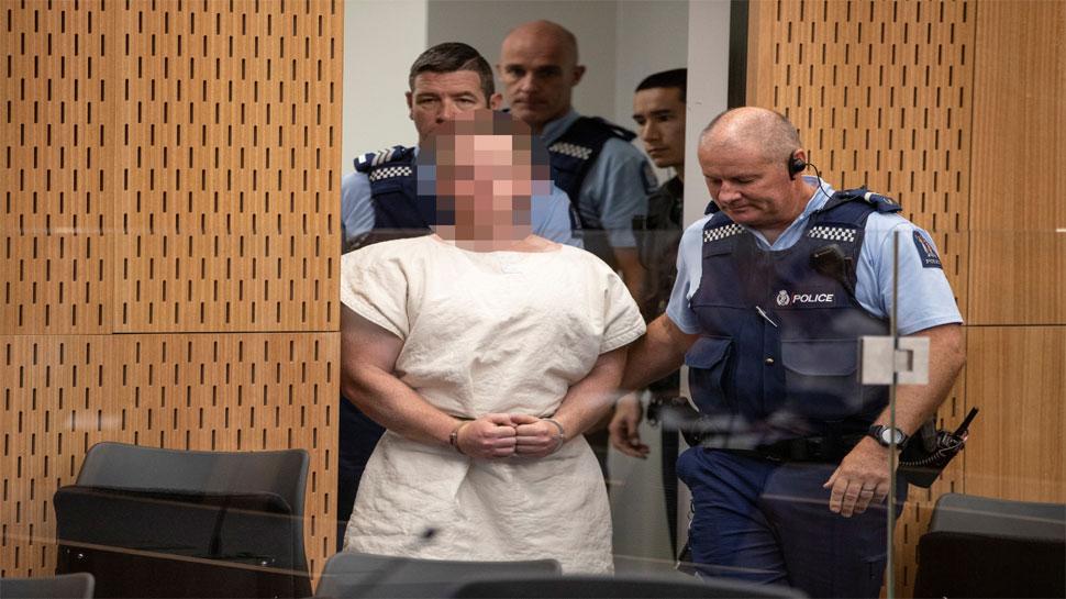 न्यूजीलैंड मस्जिद हमले के आरोपी पर अदालत में तय किए गए आरोप