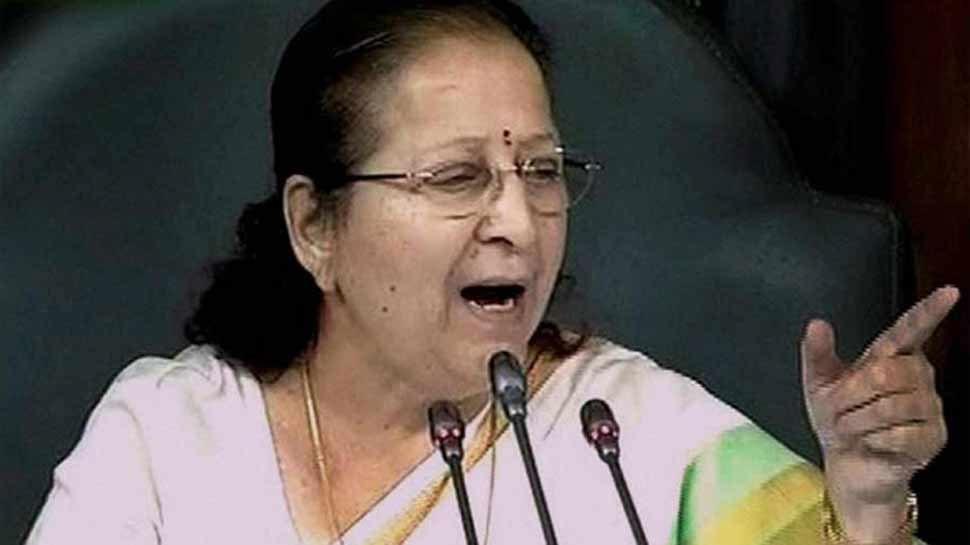 इंदौरः 30 साल से अजेय सुमित्रा महाजन की चुनावी दावेदारी को दोहरी चुनौती