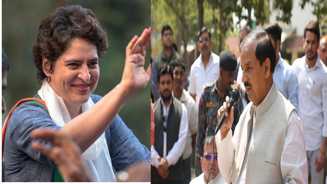 संस्कृति मंत्री महेश शर्मा ने प्रियंका गांधी पर दिया विवादित बयान, मचा बवाल