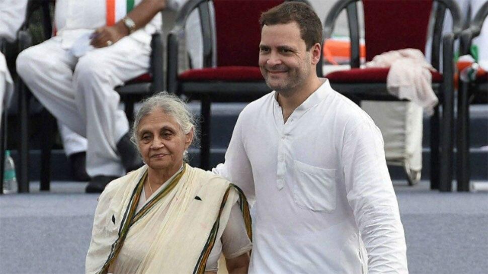 शीला दीक्षित ने राहुल को लिखा पत्र, जानिए आप के साथ गठबंधन पर क्या कहा